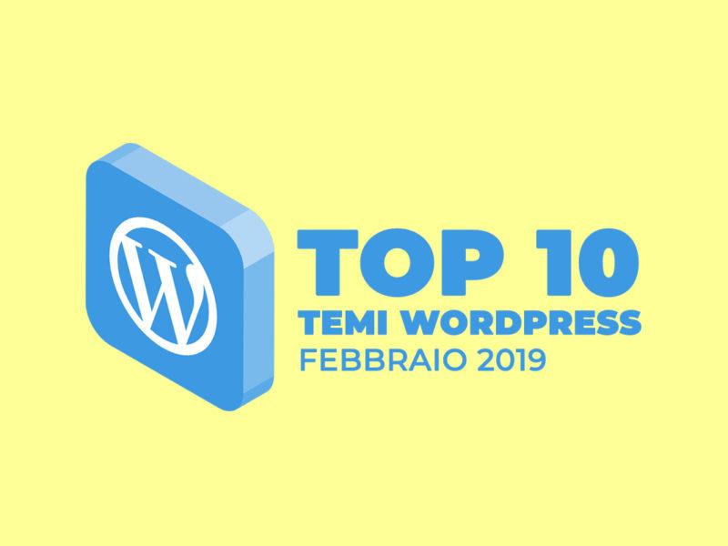Migliori 10 Temi Wordpress